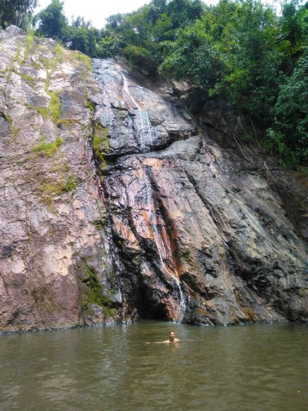 Asmeninė nuotr./Don Muang krioklys Koh Samui