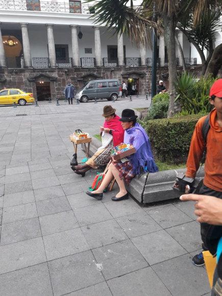 Asmeninė nuotr./Dovilės Kertenytės kelionė po Ekvadorą