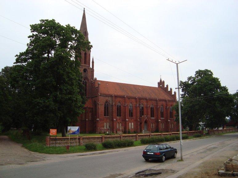 Vaido Mikaičio nuotr./Gastų bažnyčia