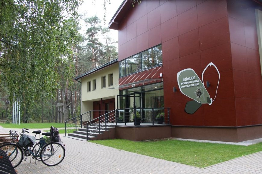 VSTT nuotr./Dzūkijos nacionalinio parko lankytojų centras