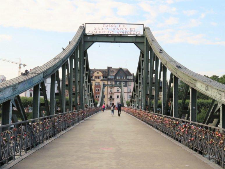 Saulės Paltanavičiūtės nuotr./Geležinis tiltas (vok. Eiserner Steg)