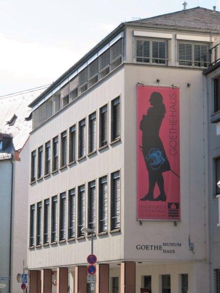 Saulės Paltanavičiūtės nuotr./J.W.Goethe namas