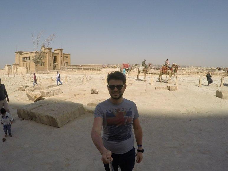 Asmeninė nuotr./Egipte