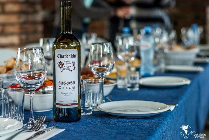 Tomo Baranausko/Pasaulio piemuo nuotr./Gruziniškas vynas