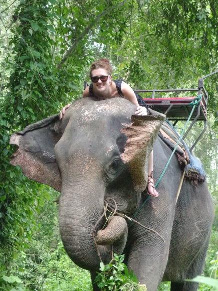Asmeninė nuotr./Turistams pramogos su drambliais – vienos laukiamiausių