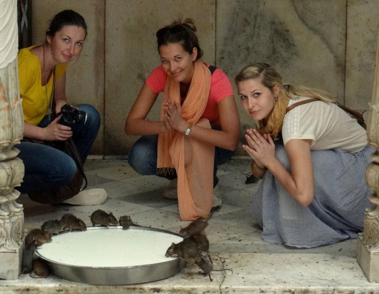 Asmeninė nuotr./Indijoje turizmo agentūrą įkūrusi Šarūnė Baubaitė