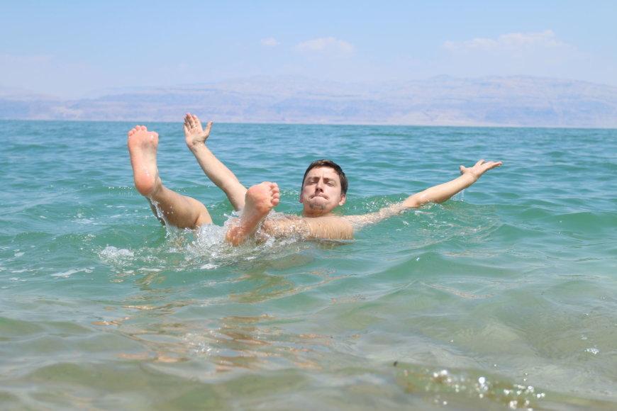 Vytauto Mikaičio nuotr./Izraelis, Negyvoji jūra