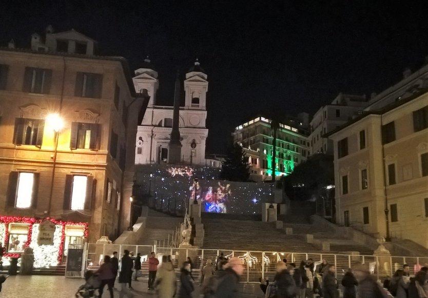 Pauliaus Jurkevičiaus nuotr./Kalėdinė Roma