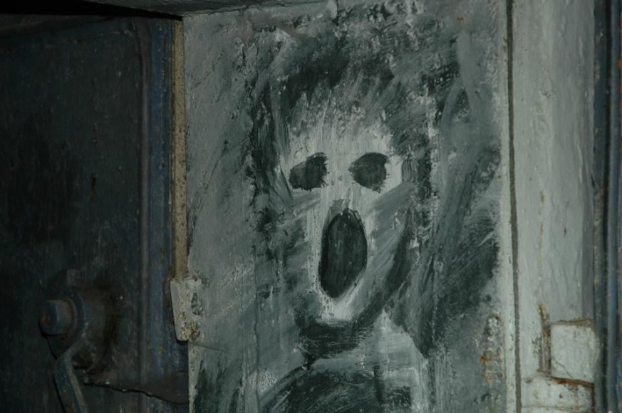 """Pamirsta.lt nuotr./Klubas """"Bombiakas"""" buvo įsikūręs apleistame bunkeryje"""