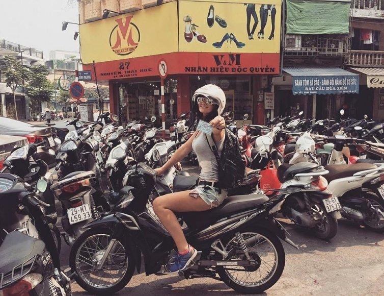 Asmeninė nuotr./Lietuvaitės Vietname