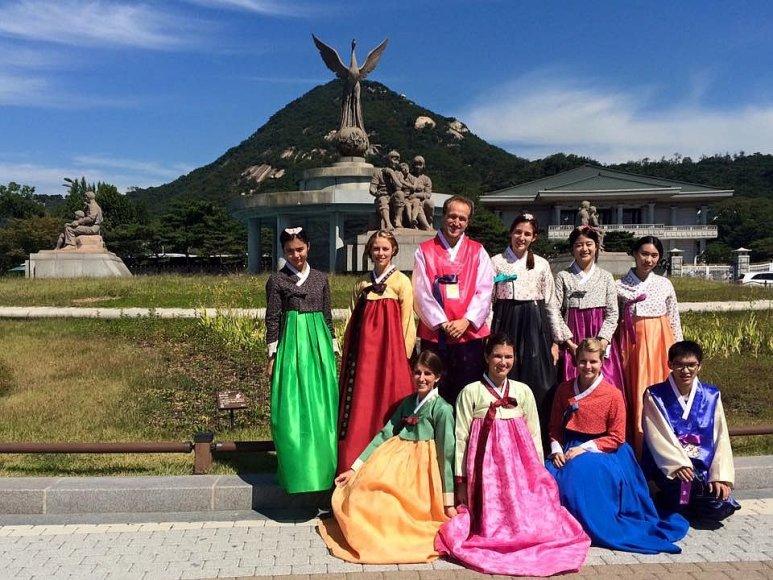 Ovidijaus Krivo nuotr./Pietų Korėjoje