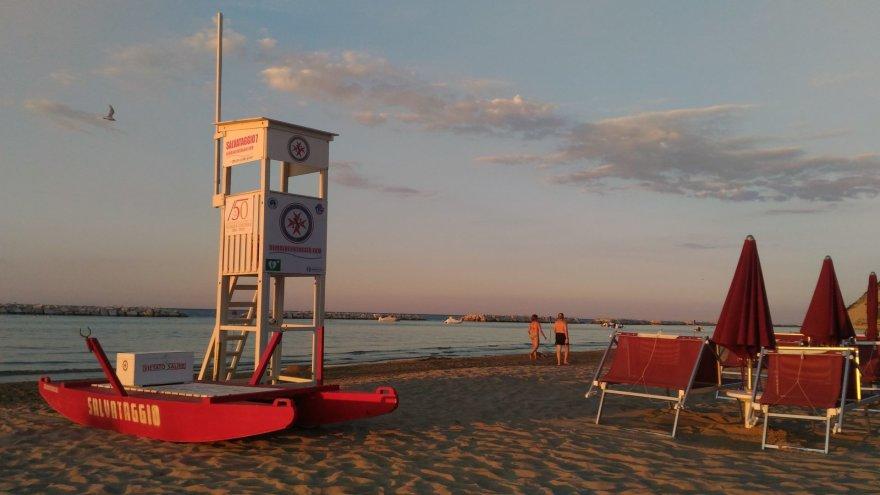 Asmeninė nuotr./Riminio paplūdimys