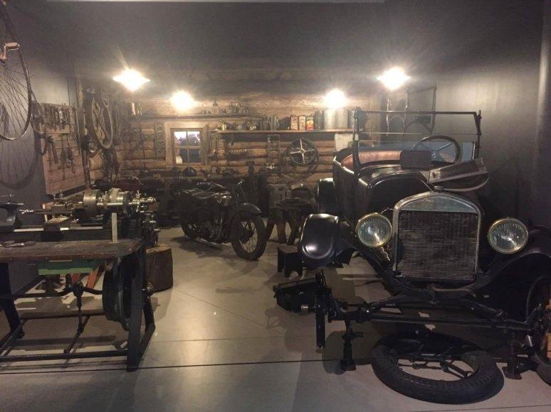 Asmeninė nuotr./Rygos automobilių muziejuje