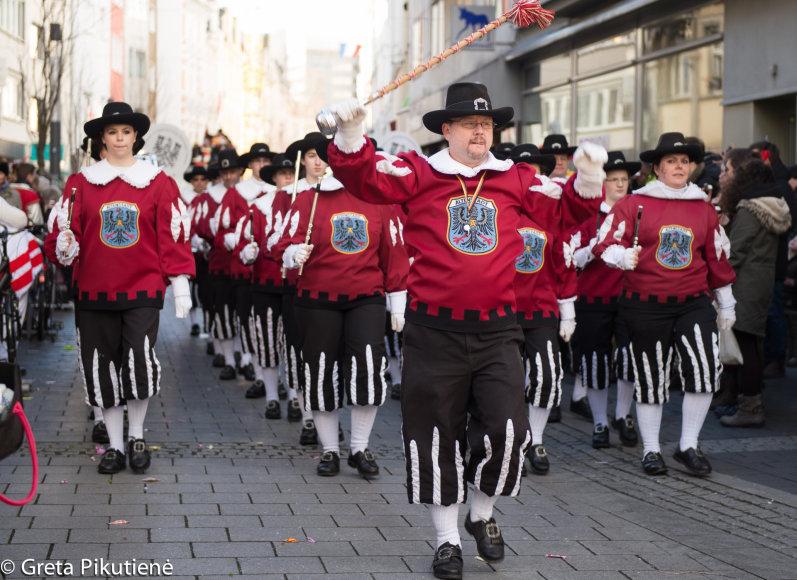 Gretos Pikutienės nuotr./Užgavėnių karnavalas Bonoje
