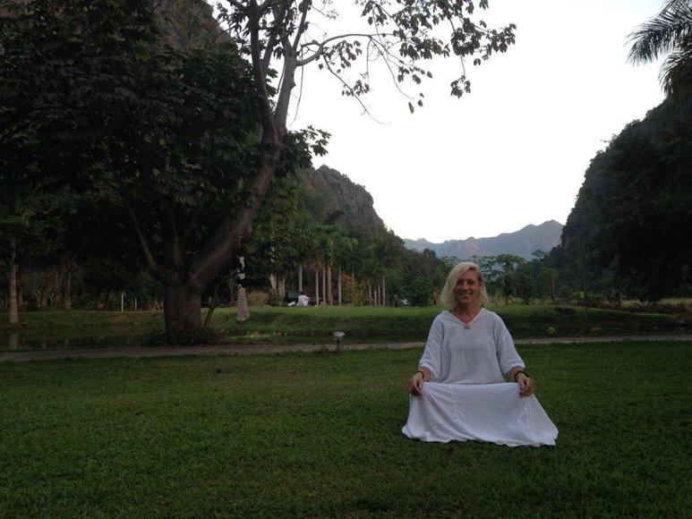 Asmeninė nuotr./Noplan.lt/Viktorija Wat Tam Wua Forest vienuolyne Tailande