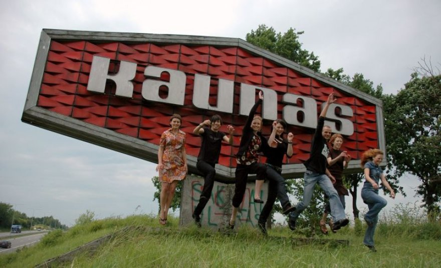 Kauno kino festivalio organizatoriai.