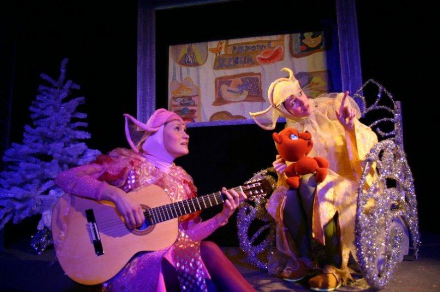 Kauno lėlių teatre pradedami rodyti šventiniai spektakliai.