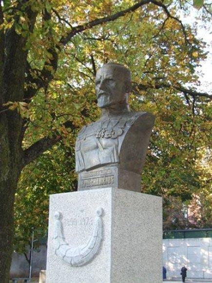 2008 metų rudenį Kaune, Vytauto Didžiojo karo muziejaus sodelyje, pastatytas P.Plechavičiui skirtas paminklas.