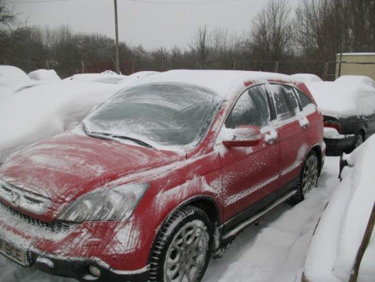 Latvių pavogtas automobilis