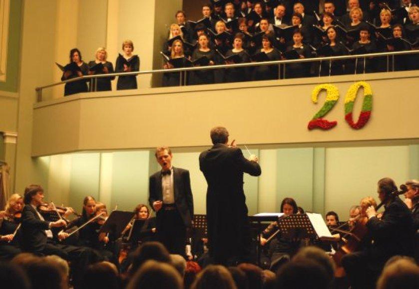 Šventinis koncertas Kauno valstybinėje filharmonijoje