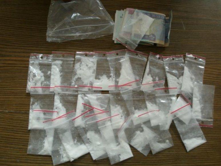 Pas sulaikytą kaunietį rastas heroinas