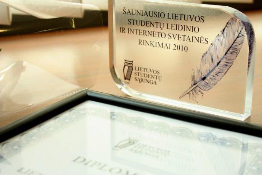 Išrinktas Lietuvos šauniausiu studentų leidinys ir internetinis tinklapis