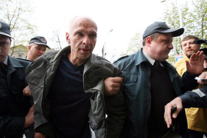 A.Žilių sulaikė policija
