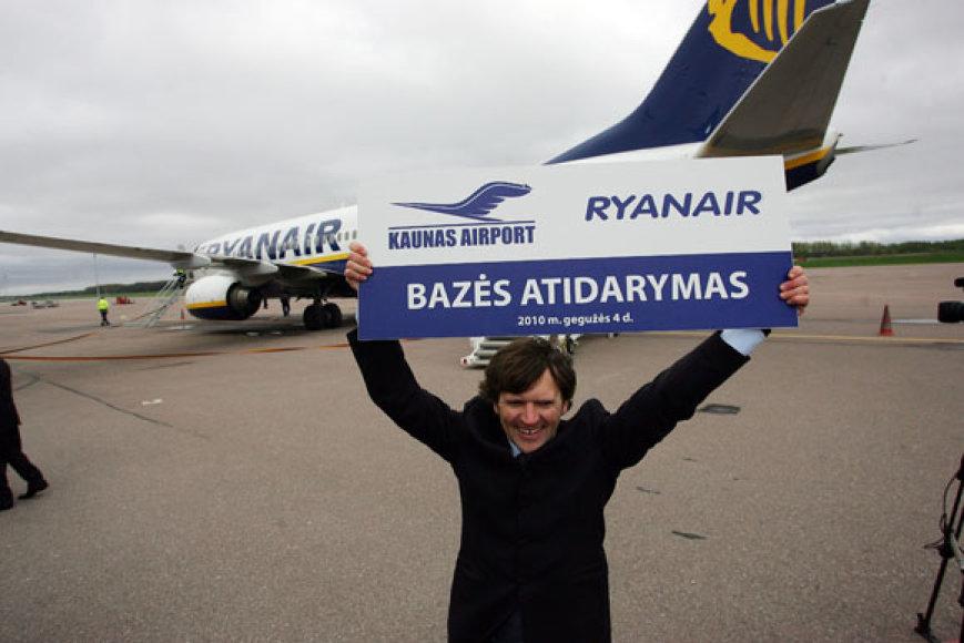 Kauno oro uosto generalinis direktorius Arijandas Šliupas