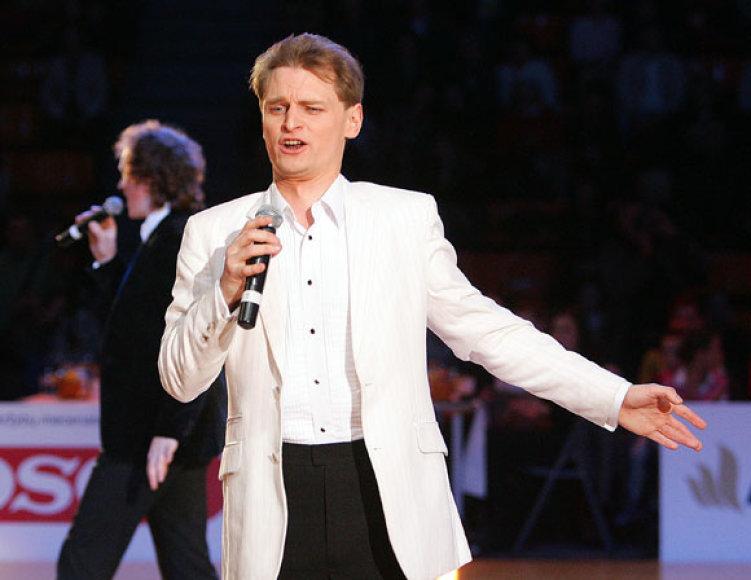 Dainininkas Liudas Mikalauskas