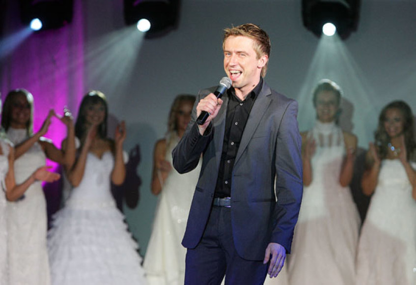 Konkursą vedė aktorius Marius Jampolskis