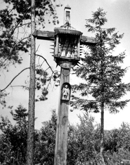 Nemajūnų kapinės. L.Kuprevičienė, 1940