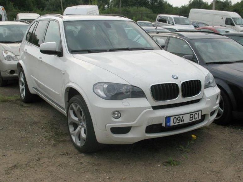 Kaip įtariama, Vokietijoje vogtas BMW rastas Kaune