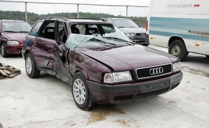 """Preliminariais duomenimis, avarijos kaltininkas """"Audi"""" vairuotojas."""