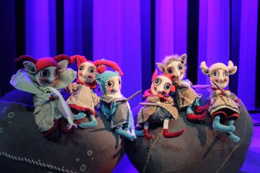 Vaikams nuo 3 metų skirtas spektaklis bus rodomas rugsėjo 11 ir 12 dienomis, 12 val.
