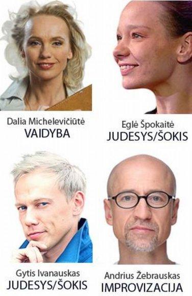 Teatro dirbtuvėse profesijos paslaptis aiškins žinomi aktoriai