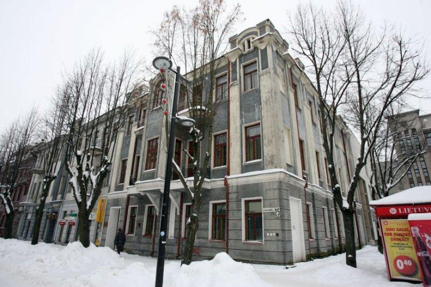 Pirmoji Lietuvoje prezidentinė biblioteka bus kuriama trečiajame šio pastato aukšte.