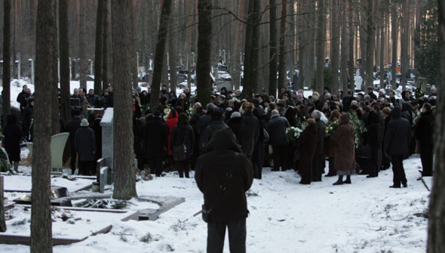 Petrašiūnų kapinėse