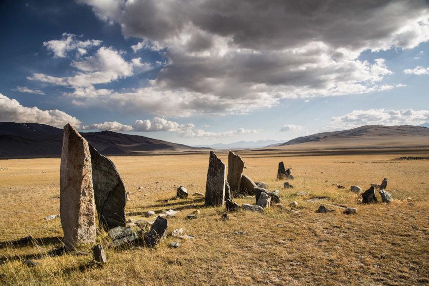 VšĮ Špikis nuotr./Dviračiais per Mongoliją keliavusių lietuvių nuotraukose – žmonės ir nuostabi gamta