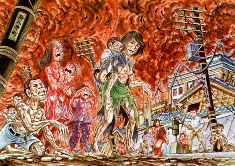 """Kadras iš animacinio filmo """"Basakojis Gen""""."""