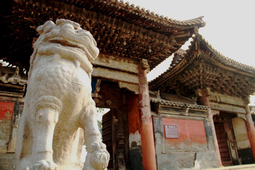 123rf.com /Xiyue šventykla, Kinija