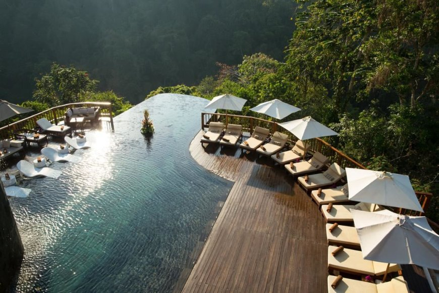"""Hanging Gardens of Bali"" nuotr./""Hanging Gardens of Bali"" viešbutis"