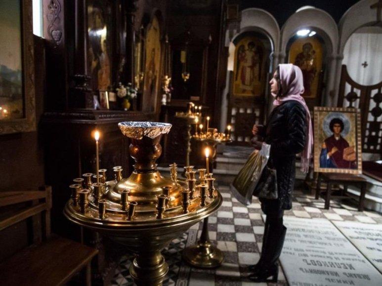 123rf.com /Šv. Dovydo bažnyčia Tbilisyje