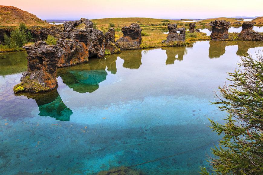 Shutterstock nuotr./Myvatno ežeras