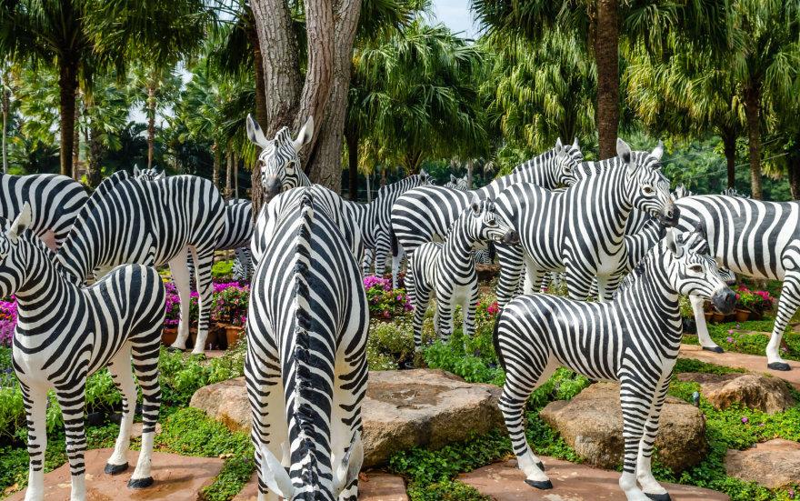"""123rf.com /""""Nong Nooch Garden"""" yra ne tik augalų, bet ir gyvūnų"""