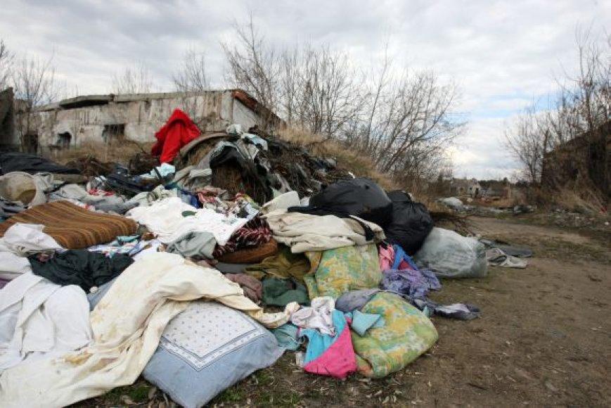 Buitinių atliekų šiukšlynų šiemet mieste rasta mažiau. Tačiau kai kurie įsisenėję nelegalūs šiukšlynai iš miesto žemėlapio nyksta lėtai.