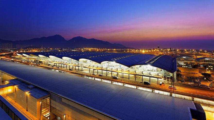Shutterstock nuotr./Honkongo oro uostas