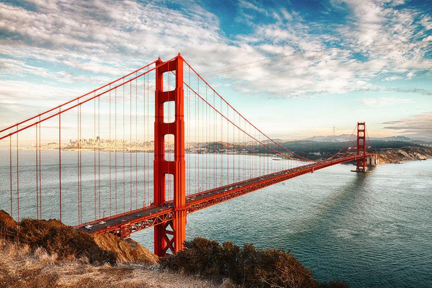 Shutterstock nuotr./Aukso vartų tiltas