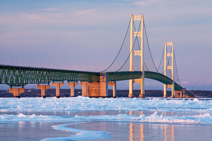 Shutterstock nuotr./Mičigano tiltas