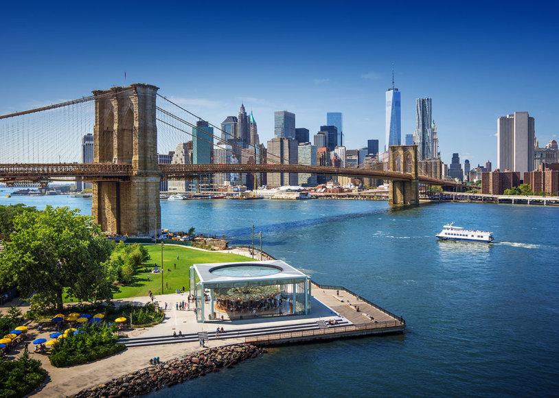 Shutterstock nuotr./Bruklino tiltas