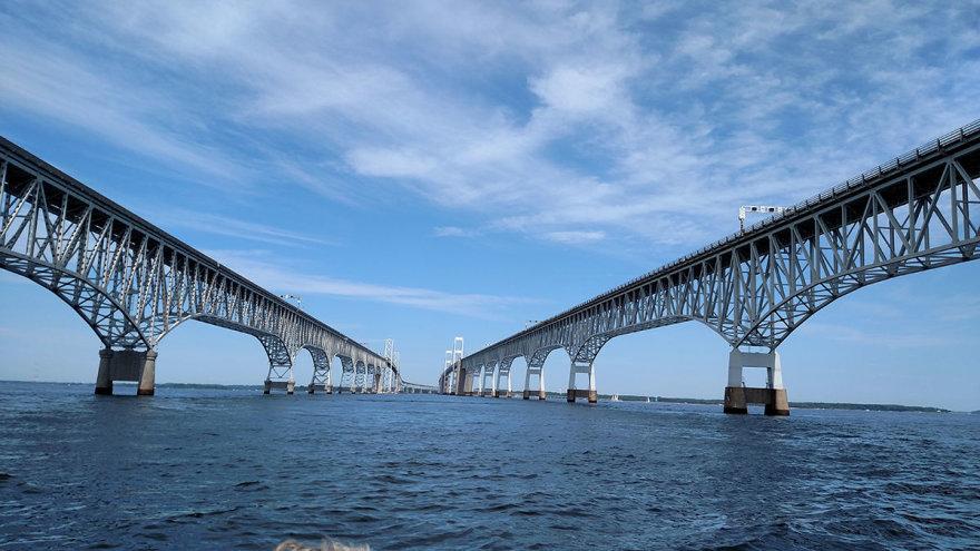 Shutterstock nuotr./Česapiko įlankos tiltas